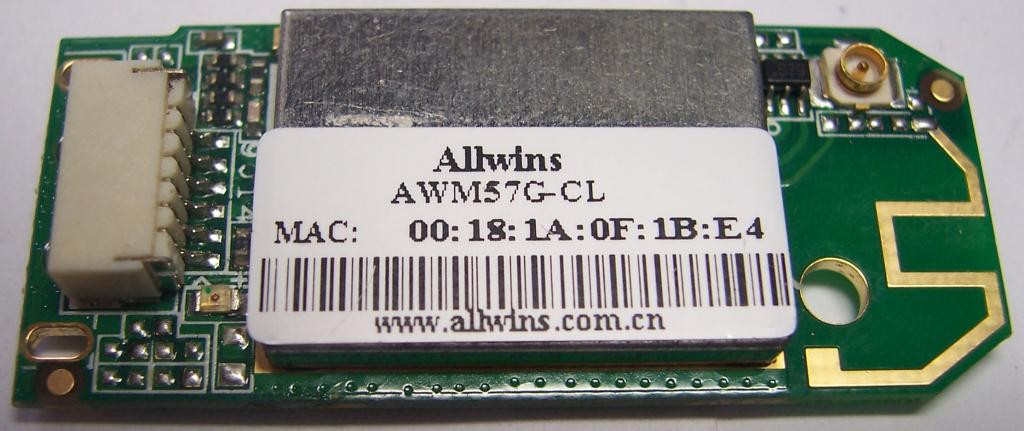 Wi-Fi модуль b/g AWM51N KPI4653