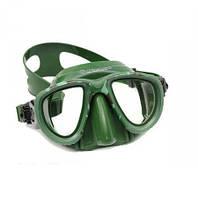 Купить маска для подводной охоты PICASSO DEEP GREEN двухстекольная