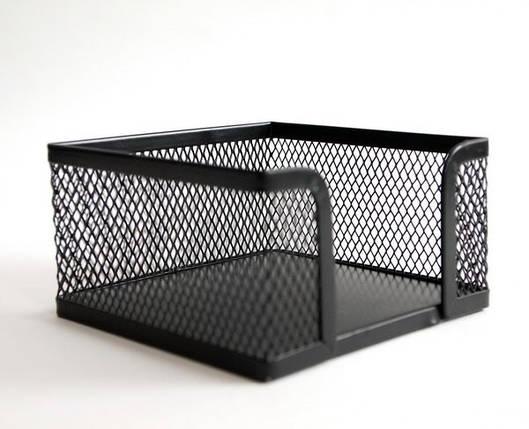 Куб для бумаг 10х10х5,5см металлический 9127, фото 2