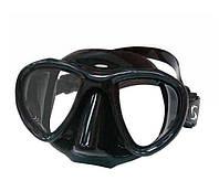 Купить маску для подводного плавания SPETTON SYNCRO BLACK двухстекольная