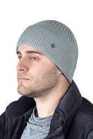 Зимняя мужская шапка с отворотом  ShaDo №127