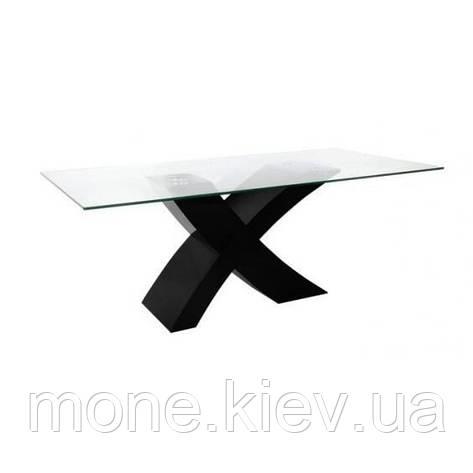 """Стол обеденный  со стеклом """"Икс"""", фото 2"""