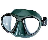 Купить маску для подводного плавания Киев SPETTON SYNCRO GREEN двухстекольная