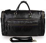 Вместительная удобная кожаная сумка  7317-1A, фото 2