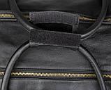 Вместительная удобная кожаная сумка  7317-1A, фото 9