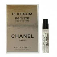 CHANEL EGOISTE PLATINUM   MEN VIAL 2 ml