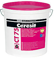 Штукатурка декоративная Ceresit CT 175/2,0 БАЗА силикон-силикатная короед 2,0 мм 25 кг