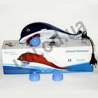 Большой массажер Дельфин Dolphin JT-889 с насадками