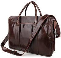 Кожаная стильная сумка  7321C, фото 1