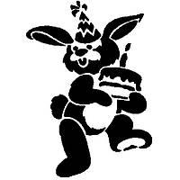 "Трафарет для торта ""Кролик"" Martellato CON10"