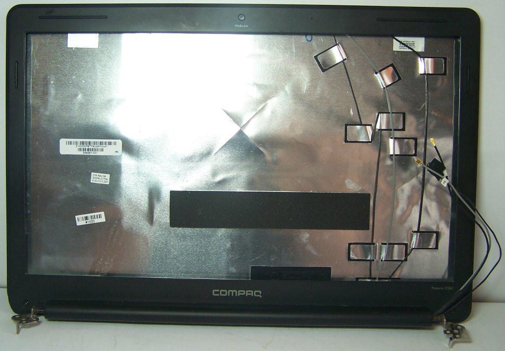 Верхняя часть, петли ноутбука Compaq CQ61 KPI7405