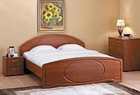 Кровать с гнутой спинкой