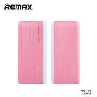 Внешний аккумулятор Remax Proda TIME PPL-19 Power Bank, 12000 mAh Розовый, фото 1