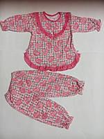 Пижамы для девочек (байка) от 2-х лет до 7 лет .разные цвета