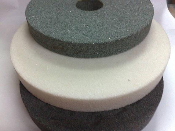Круги абразивный (камень) 14А 150*20 вн. 32мм. средний серый, фото 2