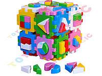 """Іграшка куб """"Розумний малюк Суперлогіка ТехноК""""арт .2650"""