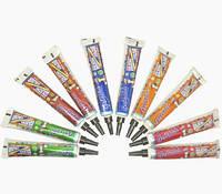 """Набор разноцветной хны для тату в тубах ТМ """"Golecha"""" , 10 шт."""
