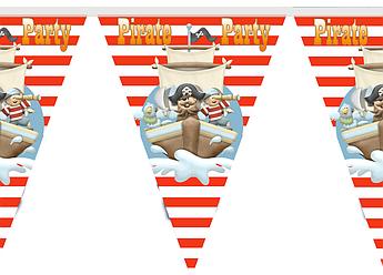 Гирлянда - украшение Пиратская вечеринка
