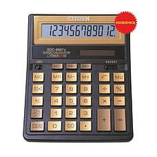 Калькулятор Citizen SDC-888TII бухгалтерский 12р, фото 2