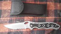Нож складной Orel качественный из чехлом для похода из страпорезом