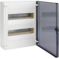 Щит распределительный наружный GOLF VS212TD на 24 модуля, прозрачная дверца