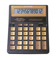 """Citizen SDC-888TII GE калькулятор бухгалтерский (""""золотое"""" исполнение)"""