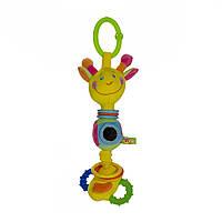 Мягкая игрушка-подвеска со звуковыми эффектами Жираф Дуду, ZHSS0\M