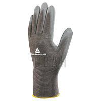 Перчатки с ПУ покрытием Delta Plus VE702GR