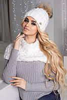 Комплект Аваланж (шапка и шарф-хомут) 4328-27