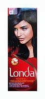 Стойкая крем-краска для волос Londa 11 Черный