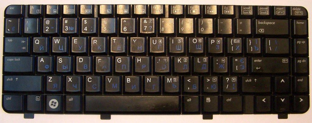 Клавиатура 462549-001 HP DV2000 DV2900 KPI11666