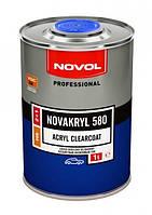 Бесцветный акриловый лак Novakryl 580 2+1 + отвердитель Н5120 (1л+0.5л)