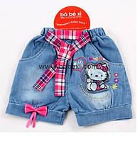 Шорты для девочки джинс