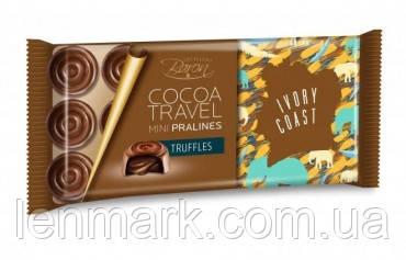 Шoколад Baron Excellent Cocoa Travel Mini Pralines Truffles IVORY COAST с трюфельной начинкой 100г