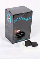 Уголь Coco Jaamboo 1 кг 64 уголька кокосовый для кальяна