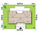 Проект Дома  № 4,17 СТРОИТЕЛЬСТВО Коттеджей, фото 8