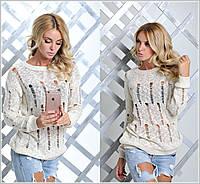 Стильный женский свитер в разных расцветках n-904341