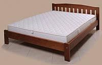 """Кровать """"Альфа-2"""" из массива ольхи (Темп)"""