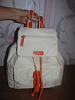 Белый рюкзак L. Credi