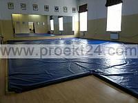 Защитные маты для спортзалов, детских площадок, горнолыжных трасс, стеновые протекторы