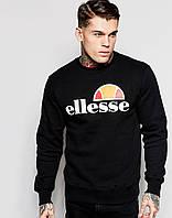 Стильный мужской свитшот Ellesse черный