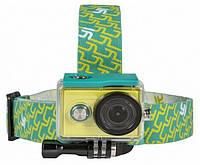 Крепление на голову для камеры Xiaomi Yi Sport Green