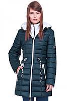 Комбинированная молодежная куртка