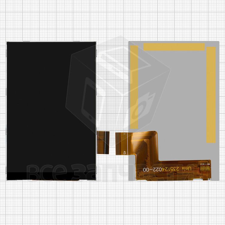 Дисплей для мобильного телефона Fly IQ436i Era Nano 9, оригинал, 45 pin, #X3540F0003/235124022-00/
