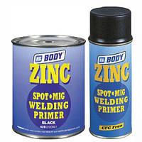 Антикоррозийный грунт BODY 425 ZINC SPOT MIG 1К, черного цвета, объем 1л