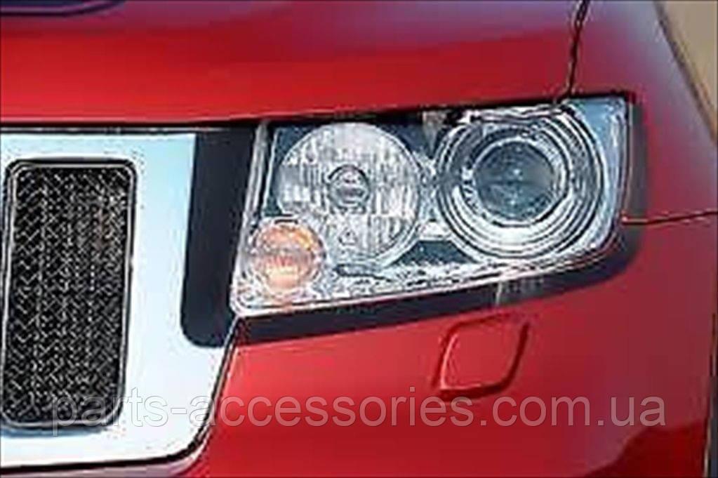 Накладки на фары Jeep Grand Cherokee 2011-14 новые оригинальные