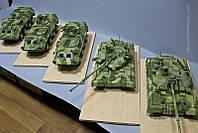 Изготовление масштабных моделей техники: танков, вертолетов, самолетов, жд, ракет,  военной техники Киев