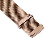 Міланський сітчастий ремінець Primo для годин Huawei Watch 2 - Rose Gold, фото 7