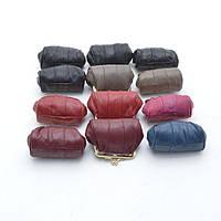 Стильный женский кошелек в винтажном стиле из натуральной кожи. Удобный, вместительный кошелек. Код: КБН16
