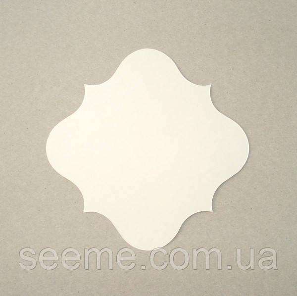 Комплект заготовок 110×110 мм, 10 шт, цвет белый